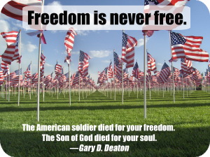 Freedom-is-never-free