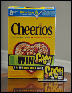 Cheerios-Cash